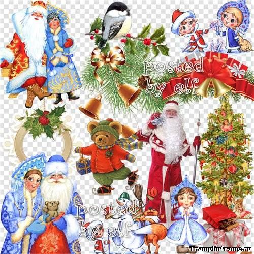 Картинки в фотошоп с новым годом